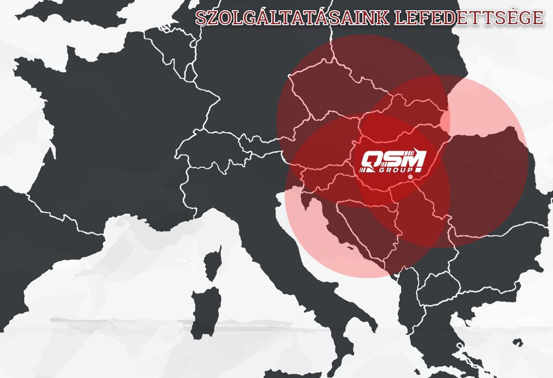 QSM operational area